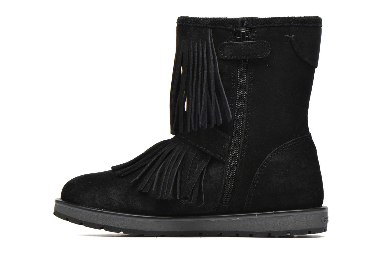 Stiefel Geox J Noha C J6460C schwarz ansicht von vorne