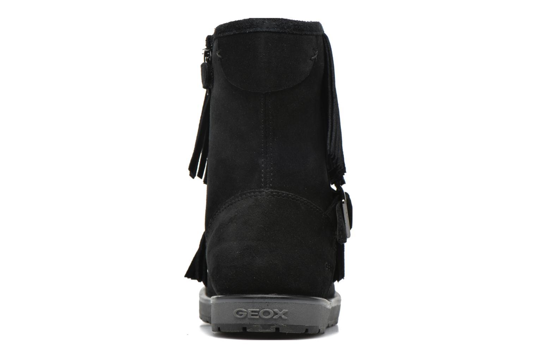 Stiefel Geox J Noha C J6460C schwarz ansicht von rechts