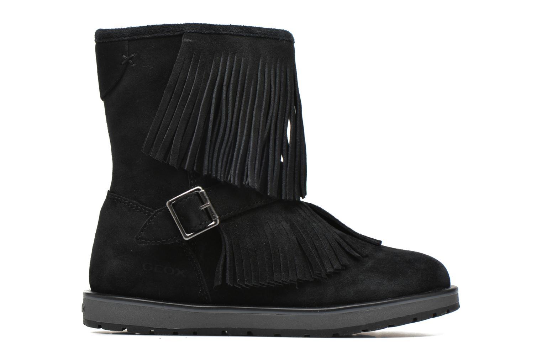 Stiefel Geox J Noha C J6460C schwarz ansicht von hinten