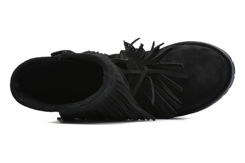 Stiefel Geox J Noha C J6460C schwarz ansicht von links