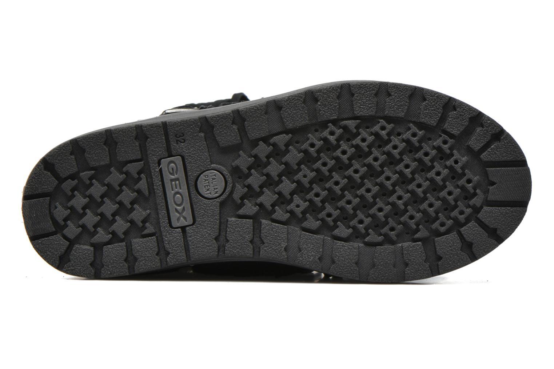 Stiefel Geox J Noha C J6460C schwarz ansicht von oben