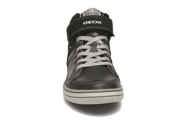Baskets Geox J Garcia B. A J64B6A Noir vue portées chaussures