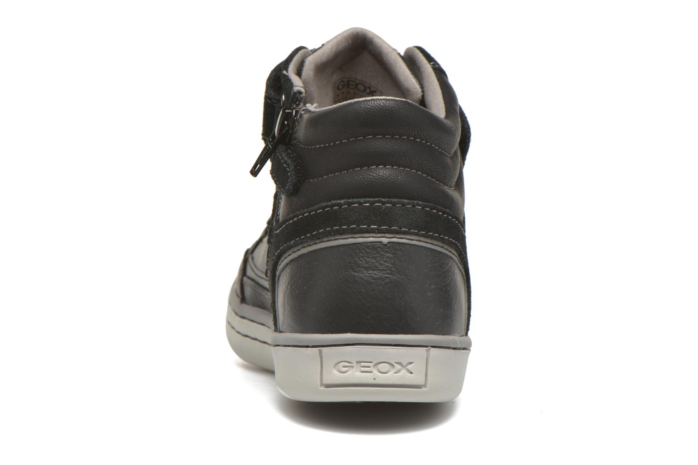 Baskets Geox J Garcia B. A J64B6A Noir vue droite