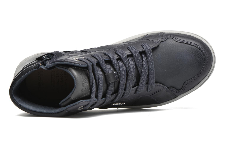 Sneaker Geox J Garcia B. C J64B6C blau ansicht von links