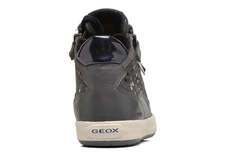 Sneakers Geox J Witty B J64C8B Grigio immagine destra