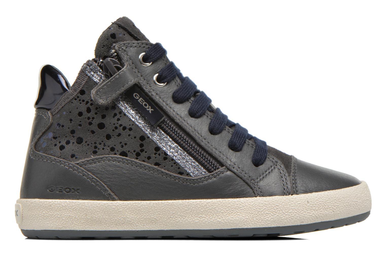 Sneakers Geox J Witty B J64C8B Grigio immagine posteriore