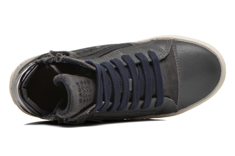 Sneakers Geox J Witty B J64C8B Grigio immagine sinistra