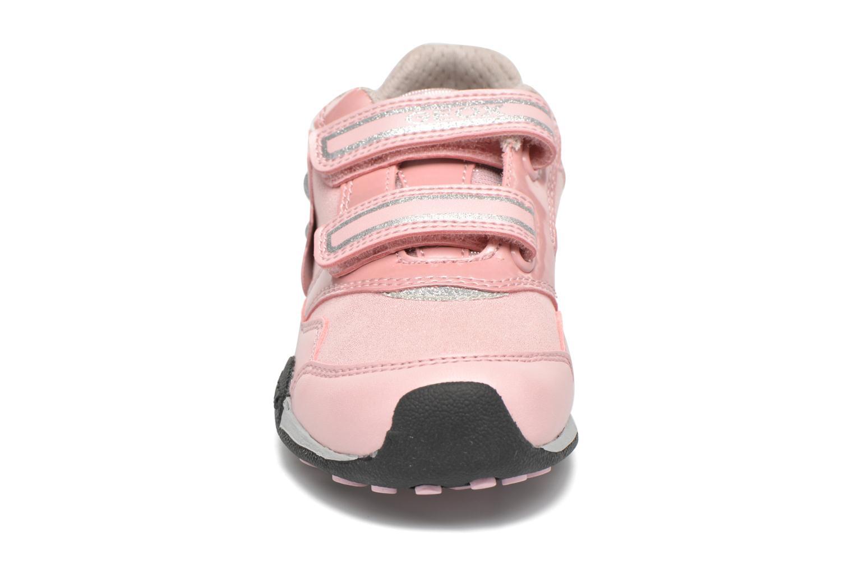 Sneaker Geox J N.Jocker G.A J64G2A rosa schuhe getragen