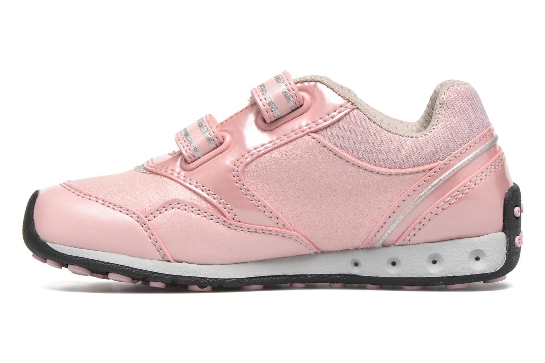 Sneaker Geox J N.Jocker G.A J64G2A rosa ansicht von vorne