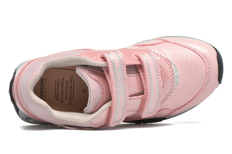 Sneaker Geox J N.Jocker G.A J64G2A rosa ansicht von links
