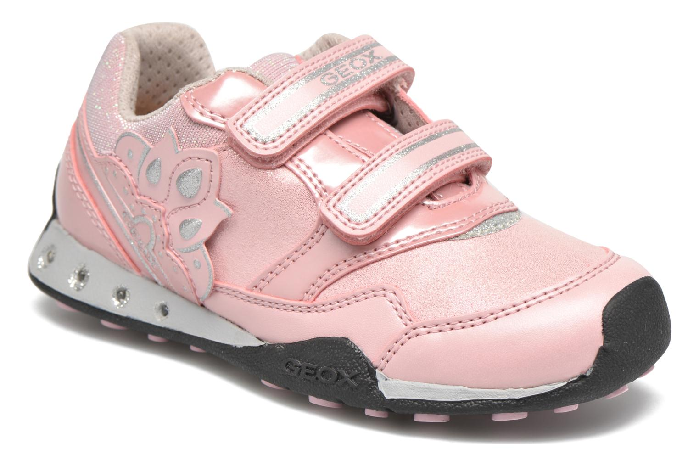 Sneaker Geox J N.Jocker G.A J64G2A rosa detaillierte ansicht/modell