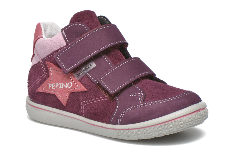 Baskets PEPINO Kimo Violet vue détail/paire