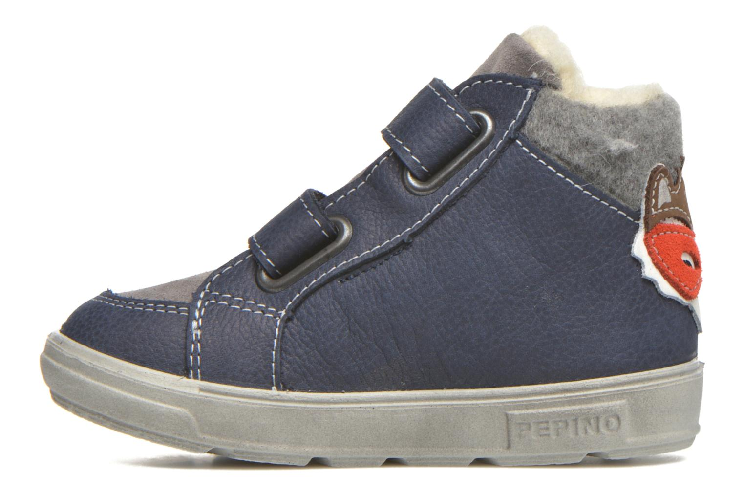 Trainers PEPINO Alazan Blue front view