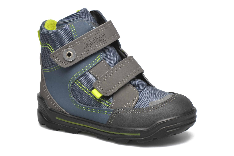 Bottines et boots PEPINO Friso Gris vue détail/paire