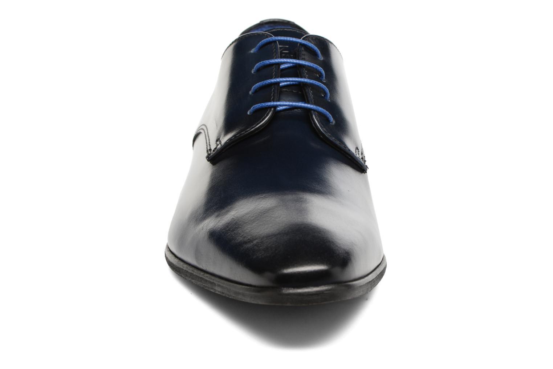 Schnürschuhe Azzaro Jory blau schuhe getragen