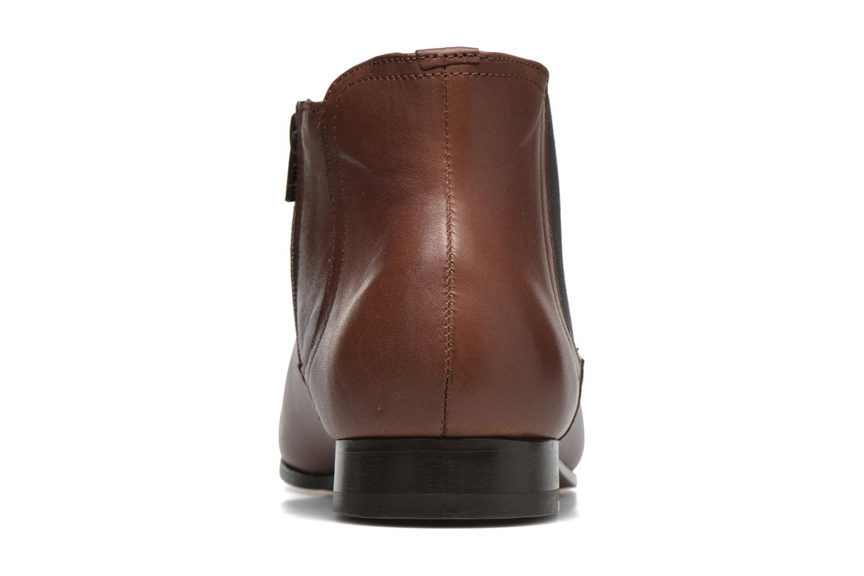 Bottines et boots Azzaro Itami Marron vue droite