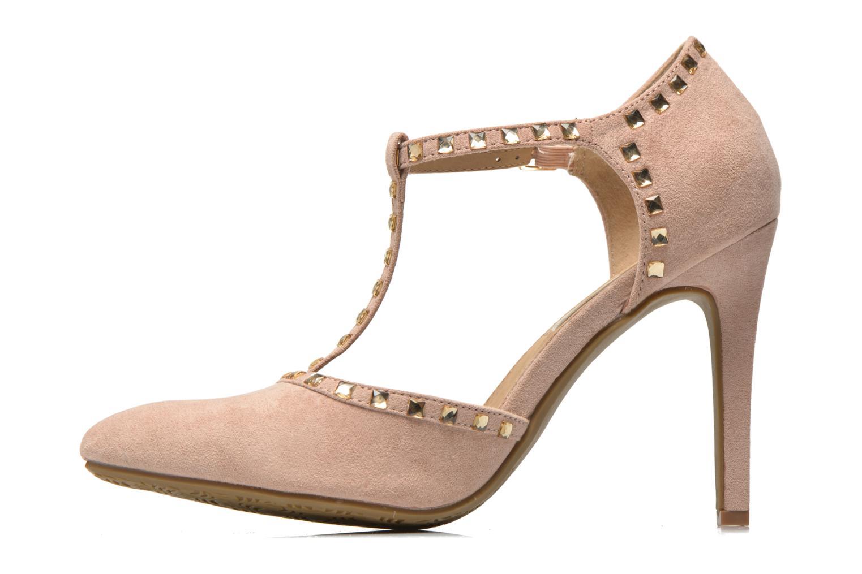 High heels Xti Nila 30093 Beige front view