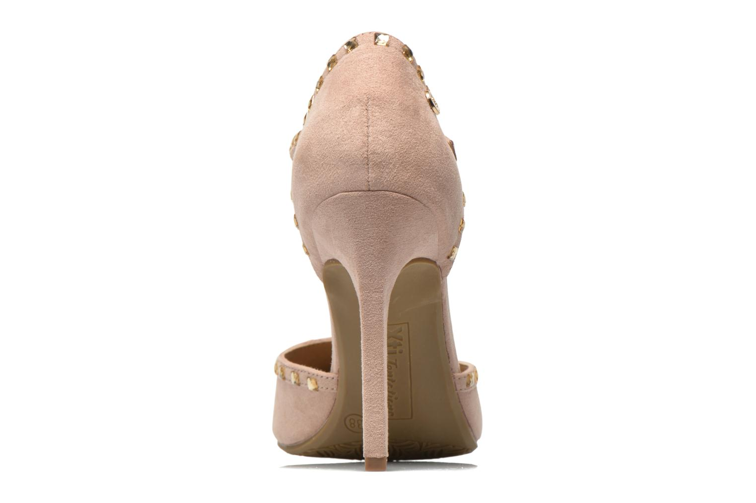 High heels Xti Nila 30093 Beige view from the right