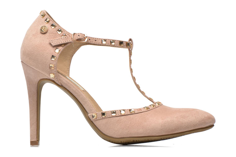 High heels Xti Nila 30093 Beige back view