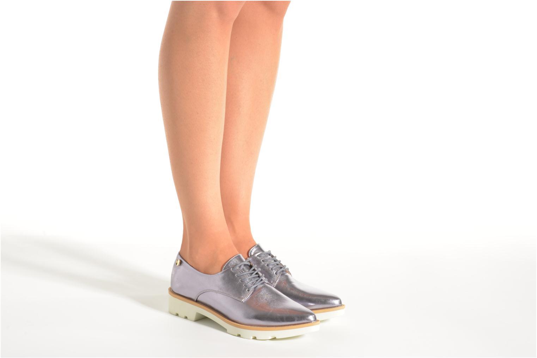 Chaussures à lacets Xti Before 30180 Argent vue bas / vue portée sac