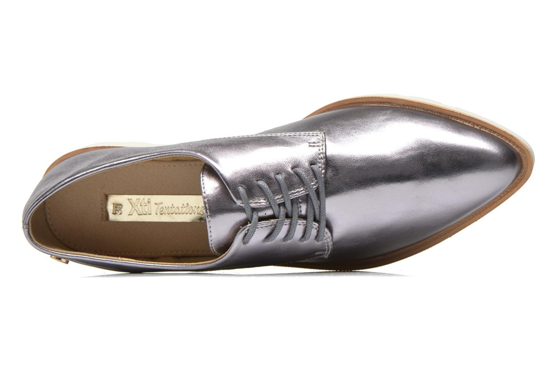 Chaussures à lacets Xti Before 30180 Argent vue gauche