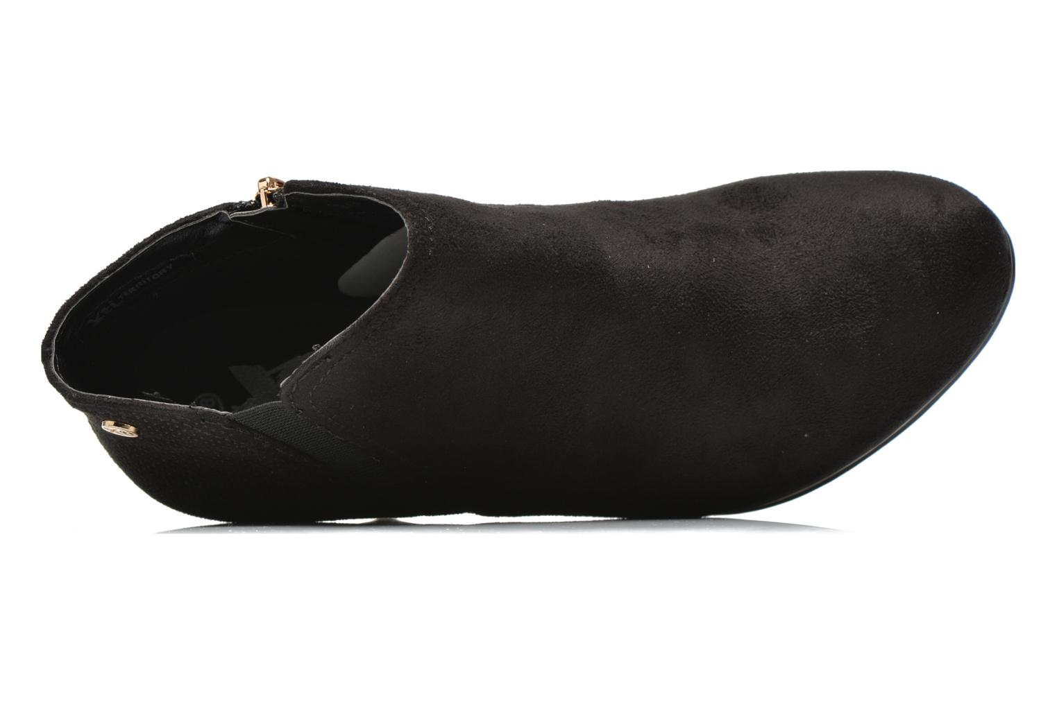Ankle boots Xti Milenni 45013 Black view from the left
