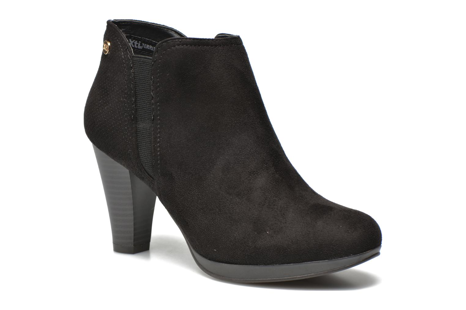 Ankle boots Xti Milenni 45013 Black detailed view/ Pair view