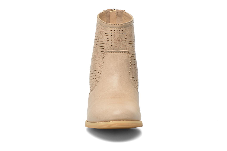 Bottines et boots Xti Naelle 45005 Beige vue portées chaussures