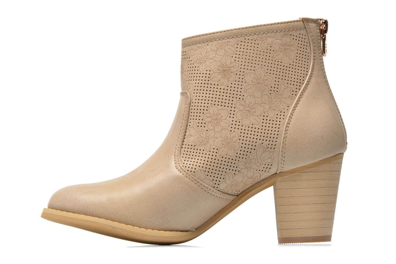 Bottines et boots Xti Naelle 45005 Beige vue face