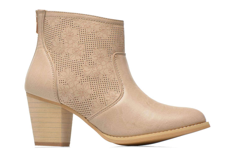 Bottines et boots Xti Naelle 45005 Beige vue derrière