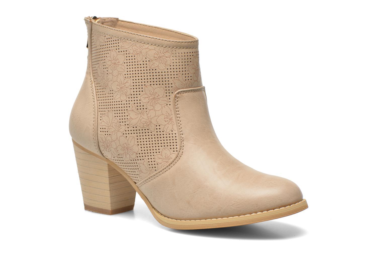 Bottines et boots Xti Naelle 45005 Beige vue détail/paire
