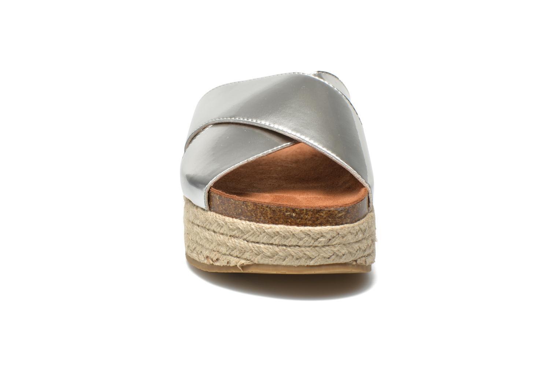 Mules et sabots Xti Cosmic 45228 Argent vue portées chaussures