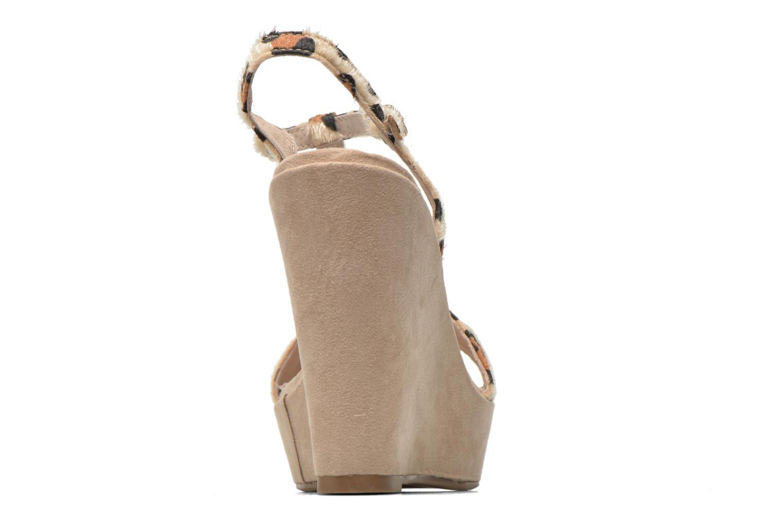 Sandales et nu-pieds Xti Antigua 29715 Multicolore vue droite