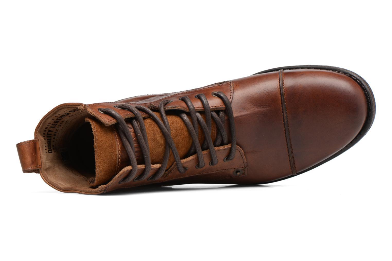Bottines et boots Levi's Emerson Lace Up Marron vue gauche