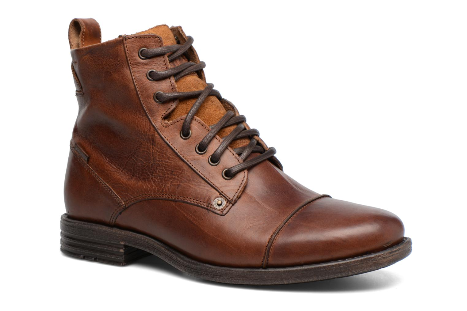 Emerson Lace Up Medium Brown