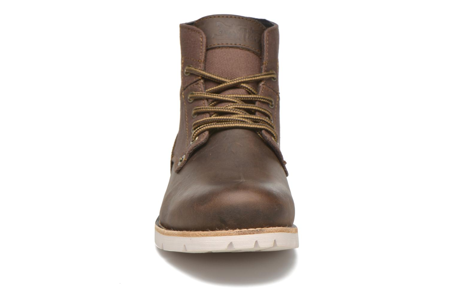 Ankle boots Levi's Jax Brown model view