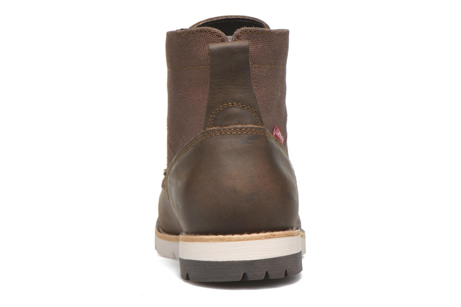 Ankle boots Levi's Jax Brown view from the right