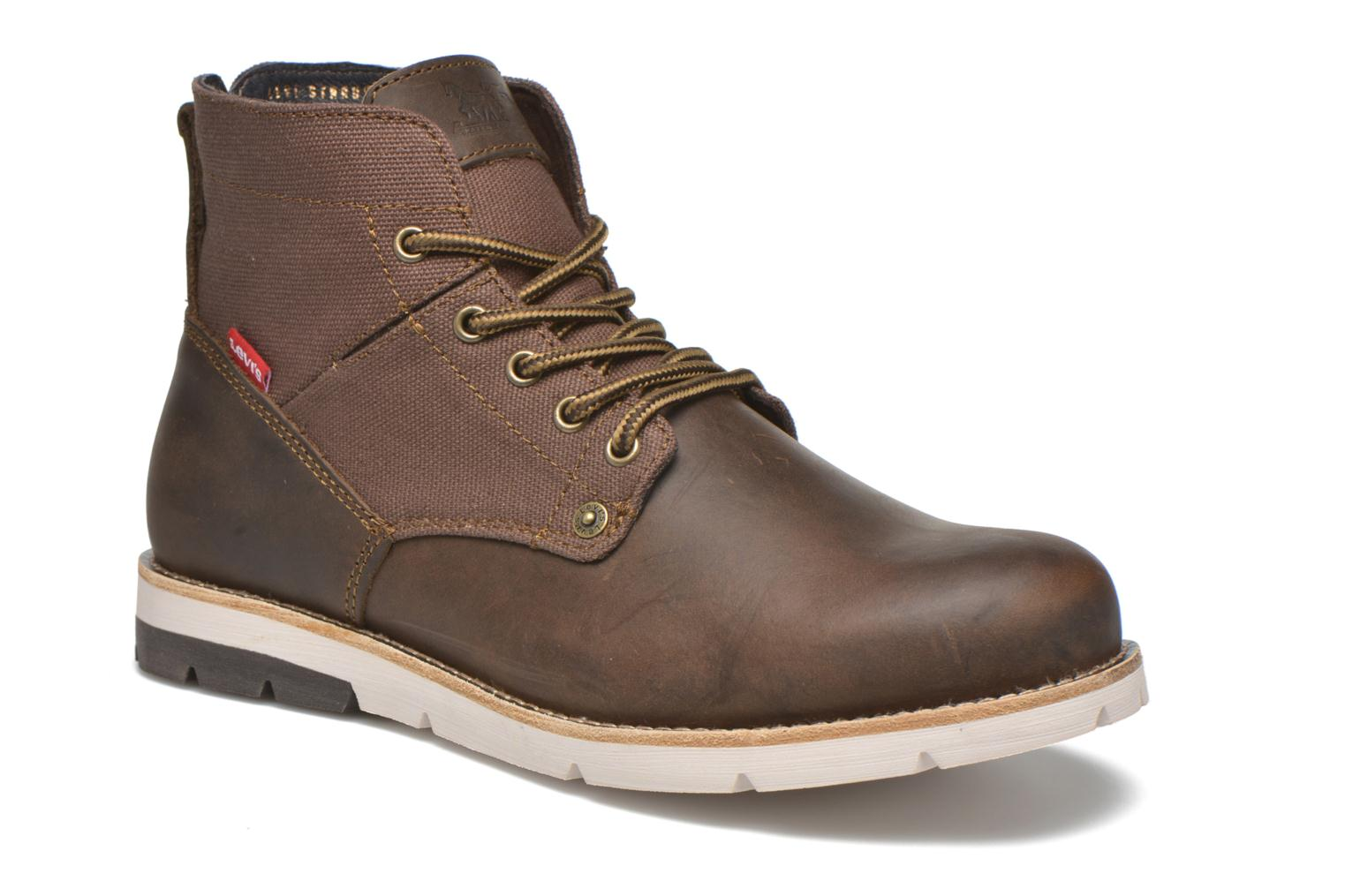 Ankle boots Levi's Jax Brown detailed view/ Pair view