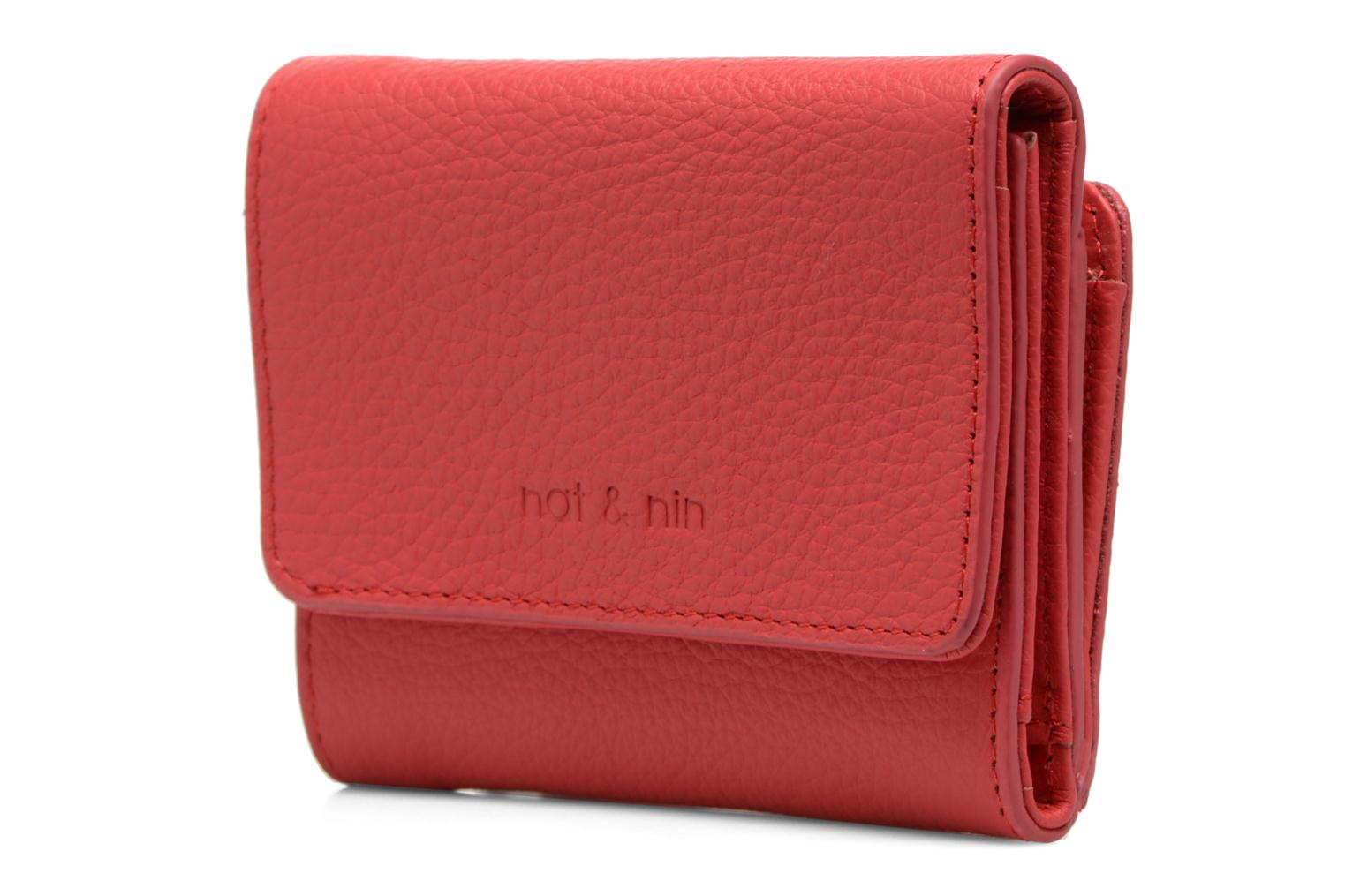 Wallets & cases Nat & Nin Ulla Red model view