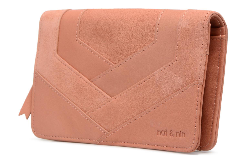 Portemonnaies & Clutches Nat & Nin Talia rosa schuhe getragen