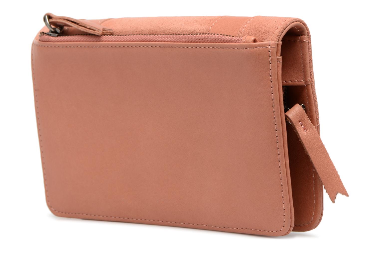 Portemonnaies & Clutches Nat & Nin Talia rosa ansicht von rechts