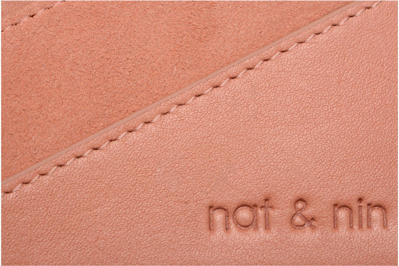 Portemonnaies & Clutches Nat & Nin Talia rosa ansicht von links