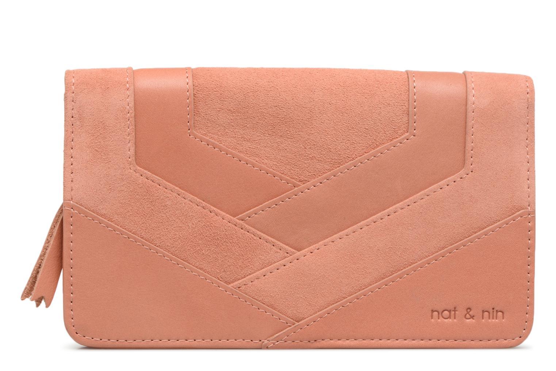 Petite Maroquinerie Nat & Nin Talia Rose vue détail/paire