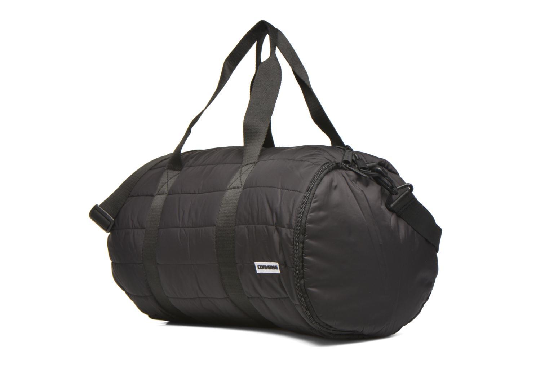 Sporttaschen Converse PACKABLE DUFFEL schwarz schuhe getragen