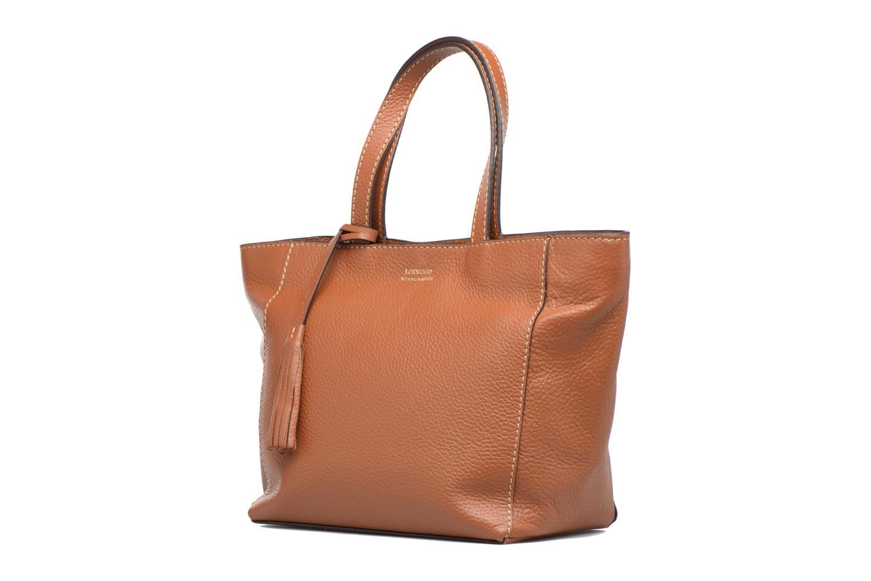 Handbags Loxwood CABAS PARISIEN S Cuir grainé Brown model view
