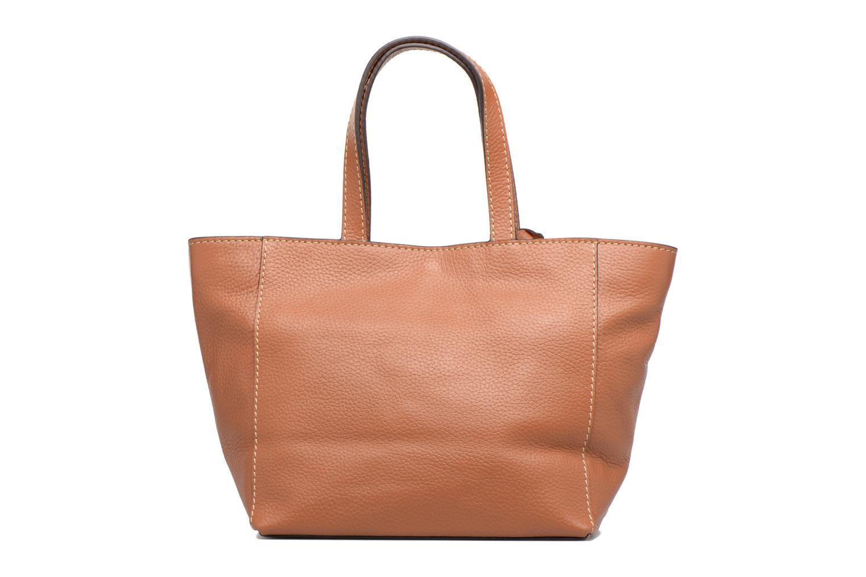 Handbags Loxwood CABAS PARISIEN S Cuir grainé Brown front view