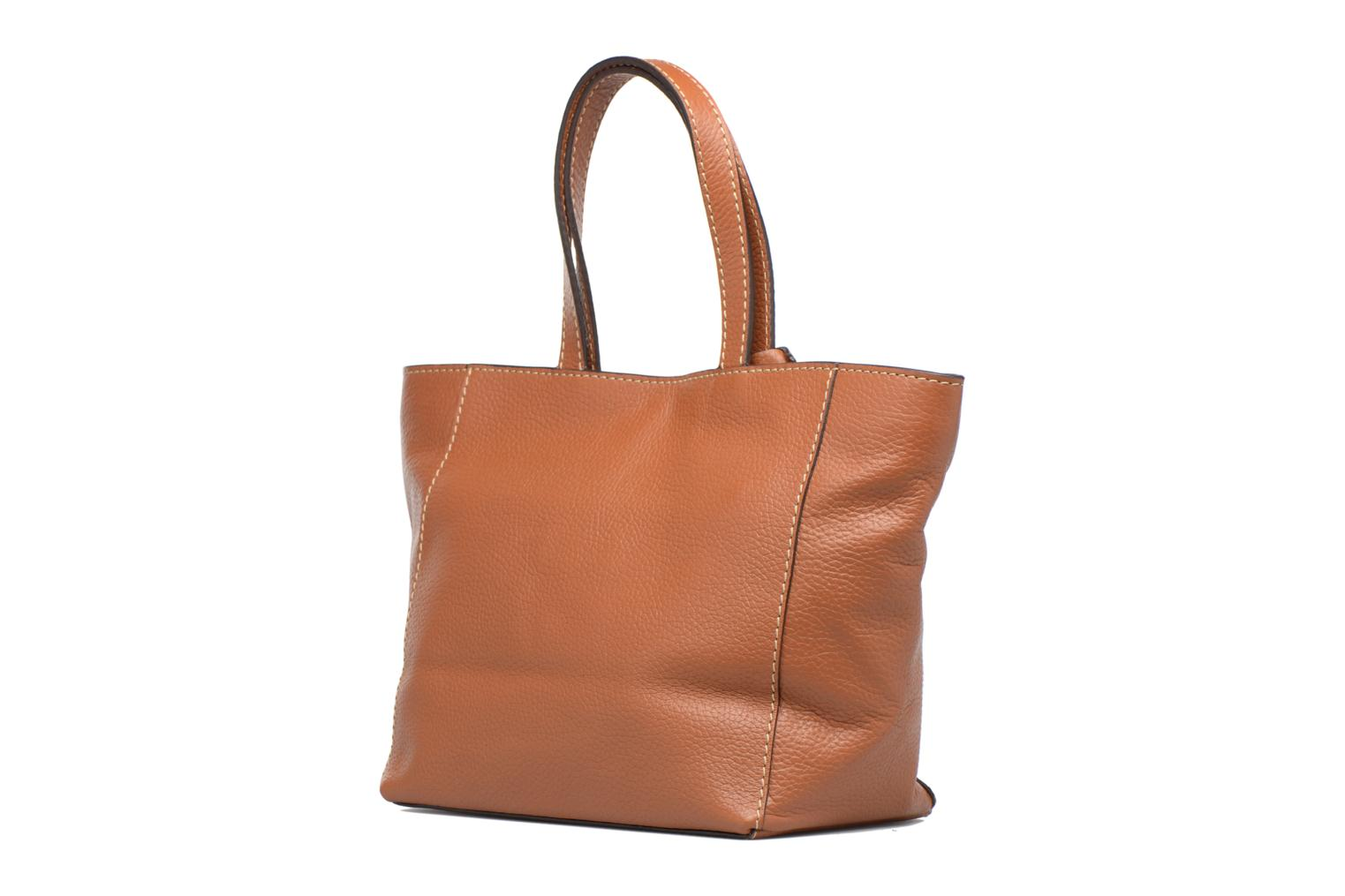 Handbags Loxwood CABAS PARISIEN S Cuir grainé Brown view from the right