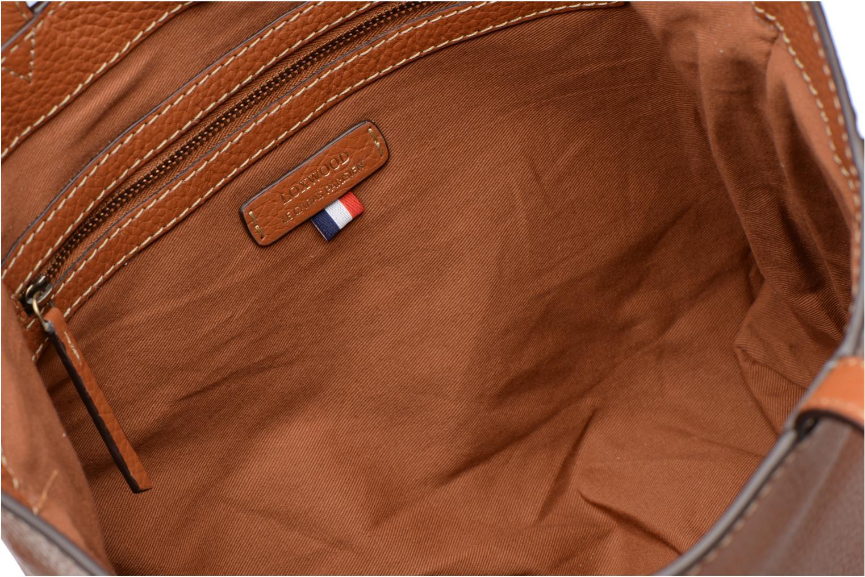 Handbags Loxwood CABAS PARISIEN S Cuir grainé Brown back view