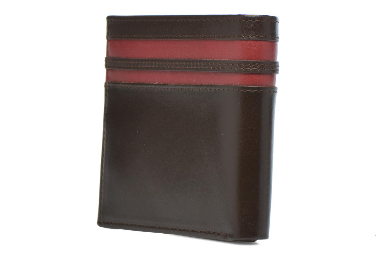 Portefeuille cuir Choc marron