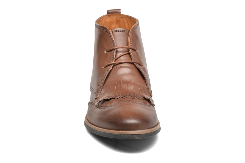Chaussures à lacets Georgia Rose Nineg Marron vue portées chaussures